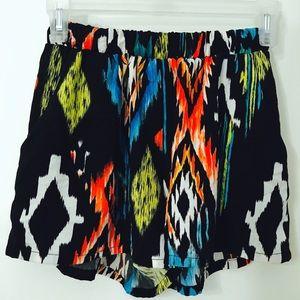 Pants - Addie Rose Pattern Shorts